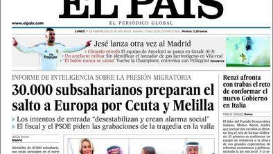 30.000 subsaharianos preparan el asalto a Europa por Ceuta y Melilla, según El País