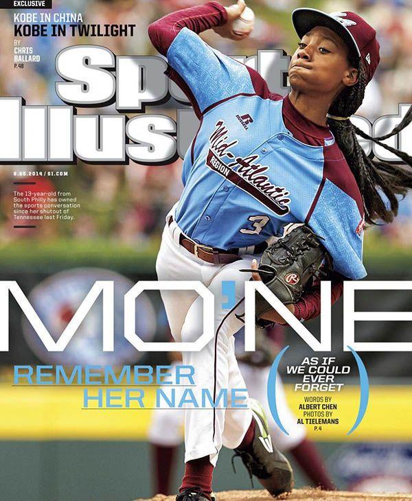 Mo'ne Davis, en la portada de Sports Illustrated