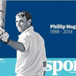 La muerte de Phil Hugues contada por The Guardian Sports