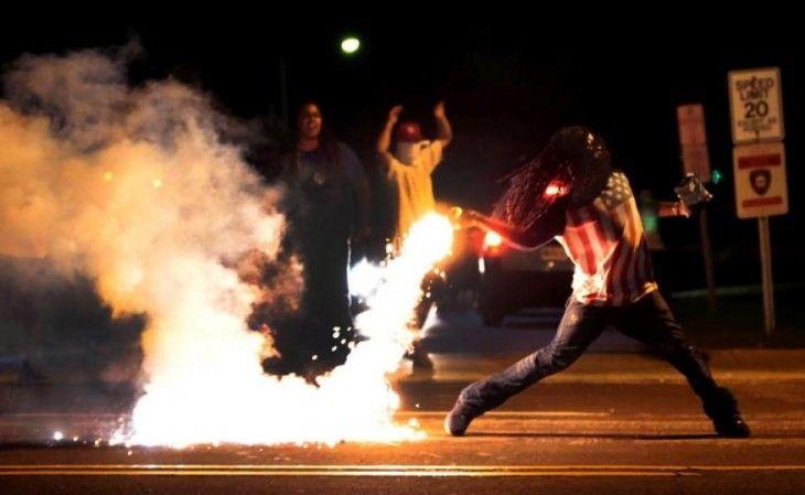 Disturbios en Ferguson, Missouri. Noviembre 2014