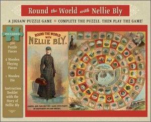 Puzle de la vuelta al mundo de Nellie Bly