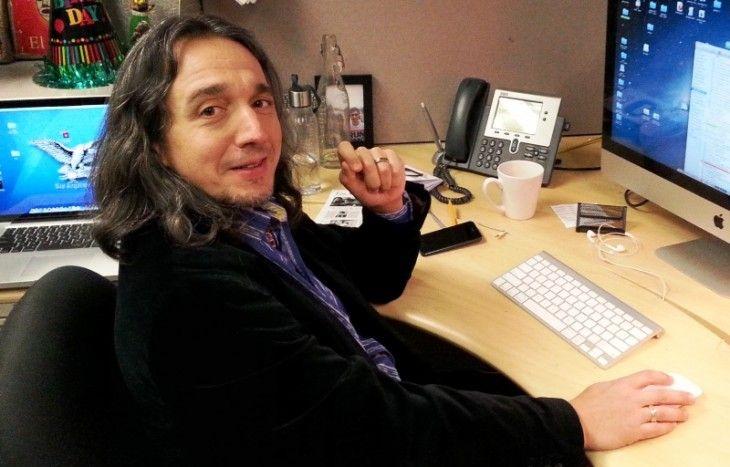 Javier Zarracina, en su despacho