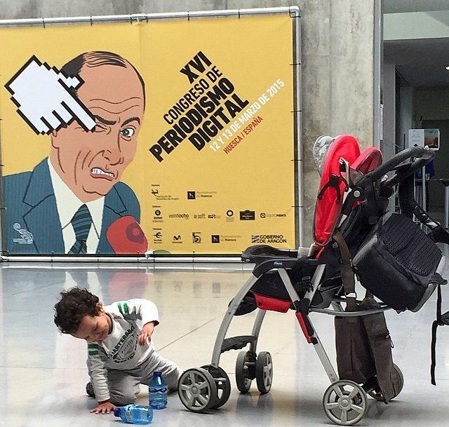 Congreso de Periodismo Digital en Huesca. Foto de Saül Gordillo