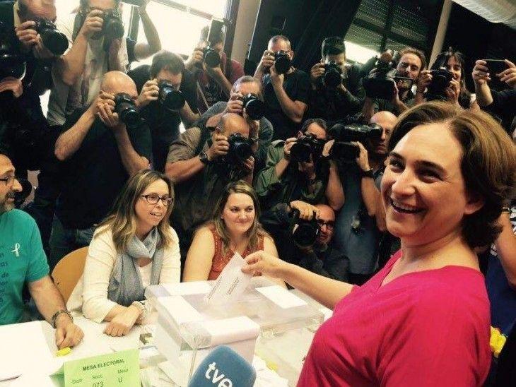 Ada Colau, seguimiento mediático