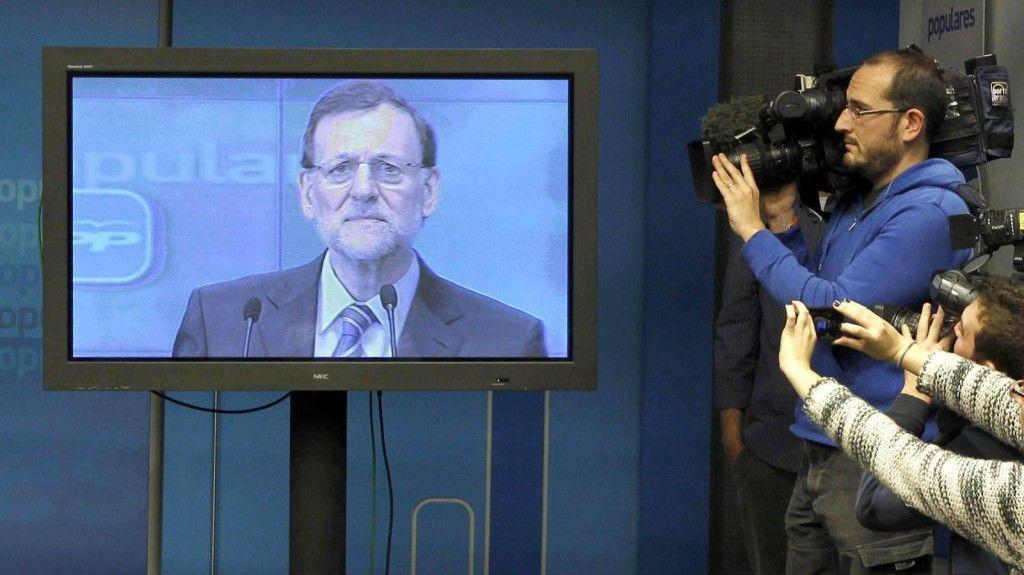 El plasma de Mariano Rajoy