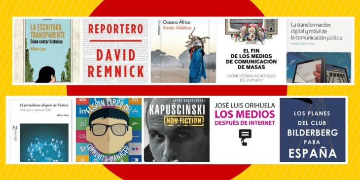 Las portadas de los 10 libros sobre comunicación