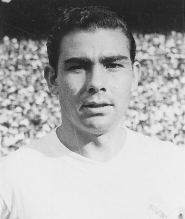 Atienza II, jugador del Real Madrid