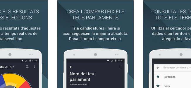 App del Govern sobre Elecciones 2015