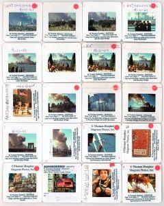 Hoja de contactos de la caída de las Torres Gemelas de Nueva York. Foto: Thomas Hoepker/Magnum Photos