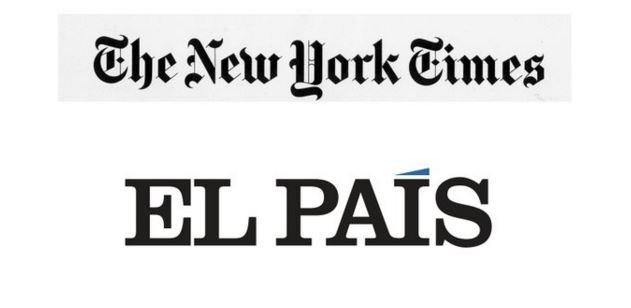 New York Times y El País