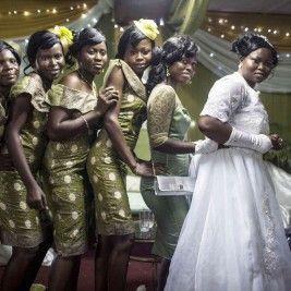 Fotografía de la serie ' Dinero y matrimonio en NIgeria' de Glenna Gordon