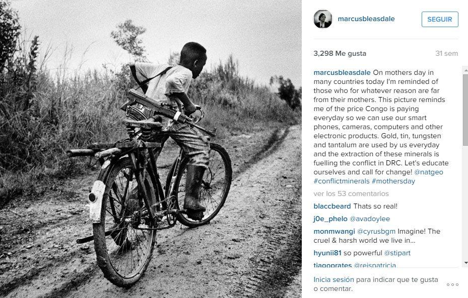 Instagram @marcusbleasdale