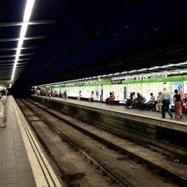 Metro Liceu en Barcelona
