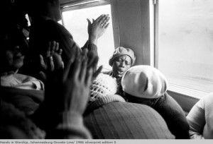 Train Church Stories de Santu Mofokeng