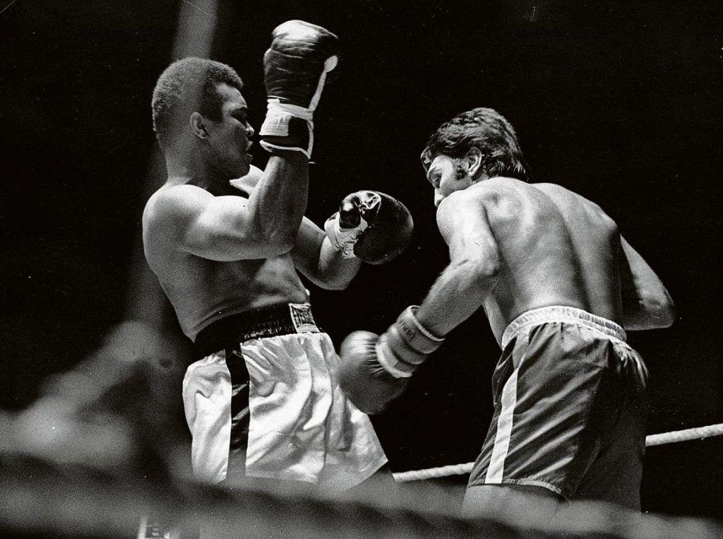 Ali vs Peralta. FOTO: PEREZ DE ROZAS