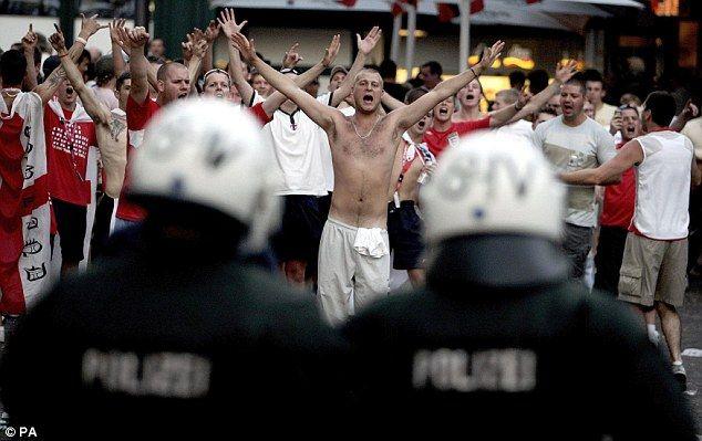 Hooligans en Francia 2016