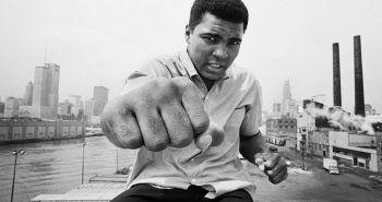 Muhammad Ali en una imagen de juventud