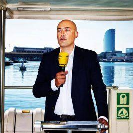 Saül Gordillo. Fotografia de Catalunya Ràdio