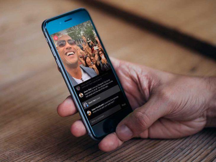 Facebook Live, la nueva herramienta de streamings en directo