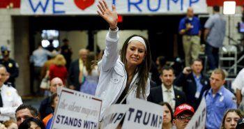 Mitin electoral de Donald Trump