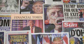 Portadas sobre la elección de Donald Trump