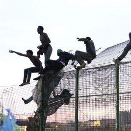 Inmigrantes en Melilla