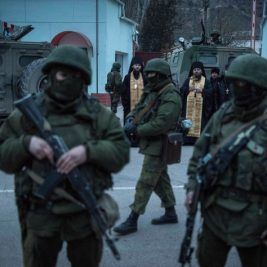 Sergey Ponomarev en Crimea