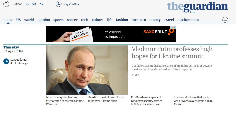 El nuevo The Guardian, en su versión beta