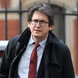 Alan Rusbridger. Photo by Peter Macdiarmid/Getty Images)