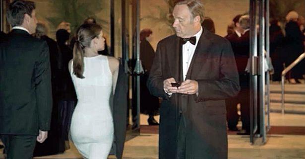 Barnes y Underwood, el instante de su primer 'flechazo'