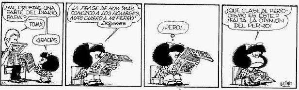 Tira cómica de Mafalda