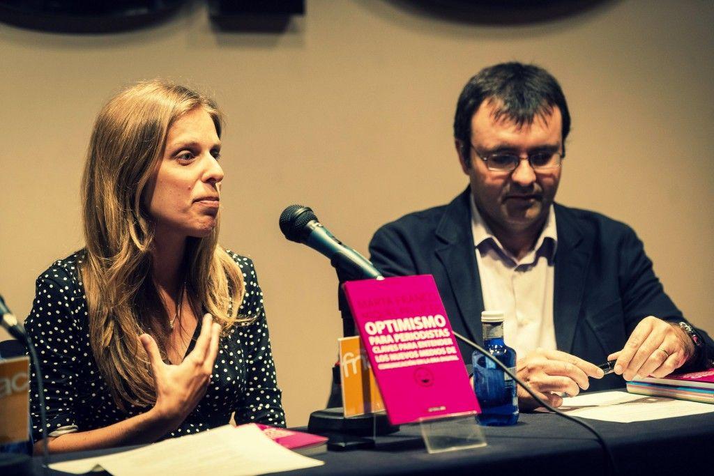 Marta Franco e Ismael Nafría. FOTO: PEP HERRERO