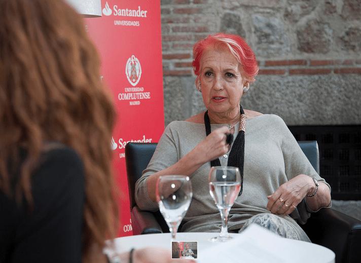 Rosa Maria Calaf. FOTO: Universidad Complutense de Madrid