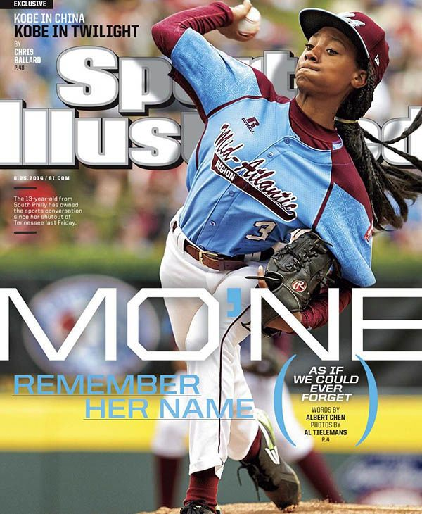 Mo'ne Davis, en la portada de Sports Illustrated