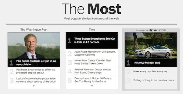 The Most, el nuevo proyecto de Washington Post