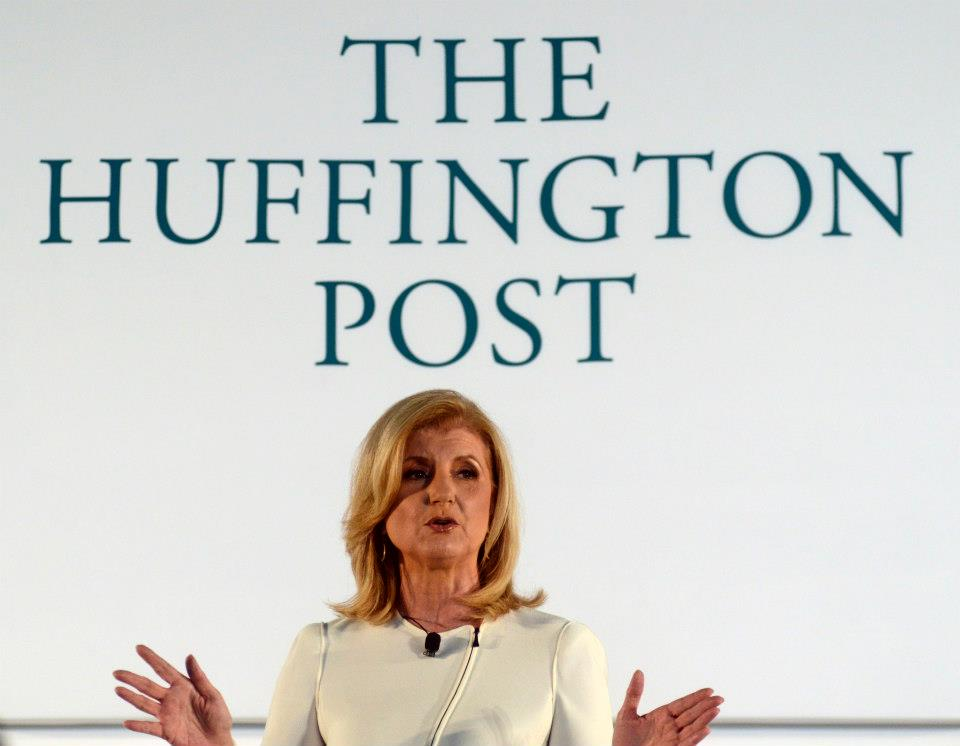 Arianna Huffington, editora de The Huffington Post