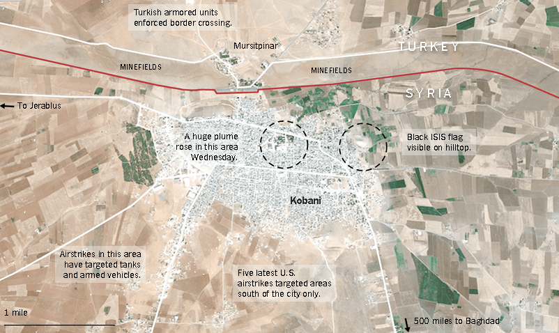A visual guide to the crisis in Iraq and Syria
