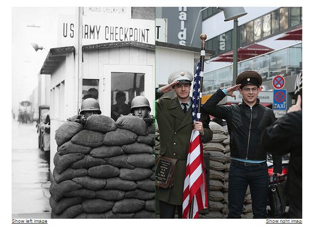Berlín, el antes y el después