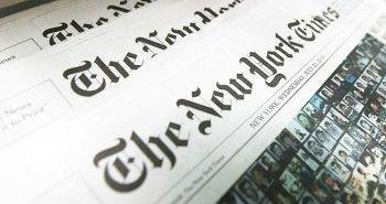 Cabecera del New York Times