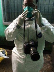 Crédito Foto cortesía de The Washington. Michel DuCille en misión en Monrovia, Liberia