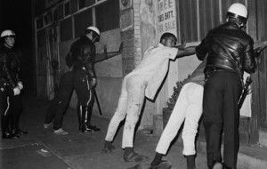 Detenciones en Watts, Los Angeles en 1965