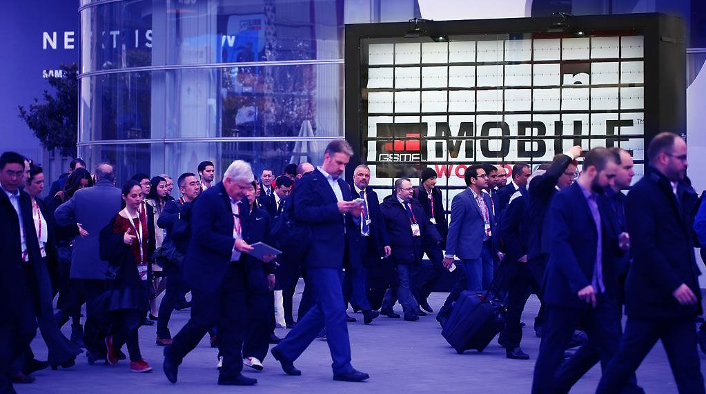 Asistencia masiva en el Mobile World Congress de Barcelona