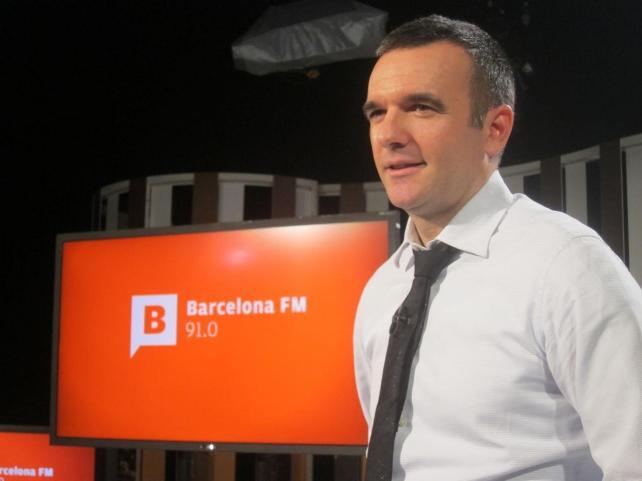 Sergi Vicente, director de Barcelona Televisión