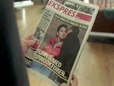Ekspres, el periódico más sensacionalista de Borgen