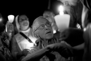 Pedro Casaldàliga. Obeient l'esperança de Joan Guerrero a la Casa América Catalunya. Còrsega, 299, entresuelo,  Barcelona