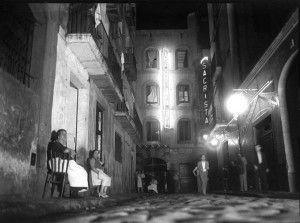 Barrio chino de Barcelona