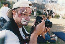 Kim Manresa con Payasos sin fronteras en Palestina