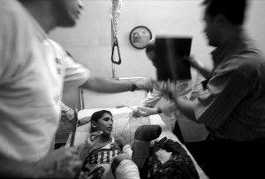 Reportaje en la guerra de Irak. Invasión americana. Foto: Kim Manresa