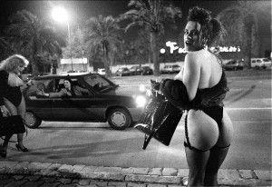 Reportaje sobre los travestis en Barcelona. Foto: Kim Manresa
