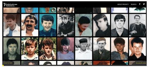 Proyecto para recordar las víctimas de la matanza de Srebrenica